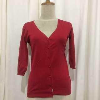 Cardigan cotton cardigan pendek