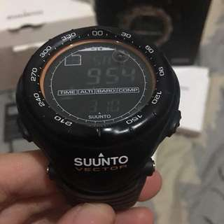 Suunto Vector (all black)