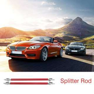 [PO547]2pcs Universal Car Front Back Bumper Lip Splitter Rod