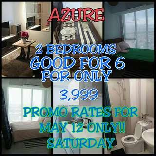 AZURE 2 BEDROOMS