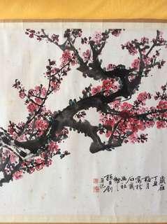 水墨画 66x107cm Chinese painting