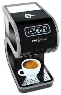 捷榮 Pod Presso 意式軟包 咖啡機 coffee TWG