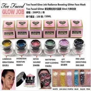 Too Faced Glow Job Glitter Face Mask
