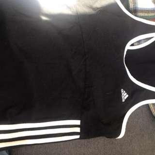 Adidas womens running singlet