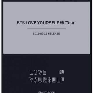 [PRE ORDER] BTS - Love Yourself: Tear