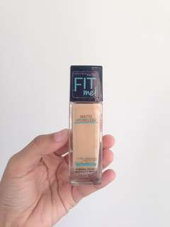 Code: #AFB9 MAYBELLINE Foundation Fit Me