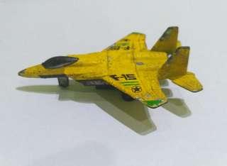 Mainan Pesawat Tempur logam