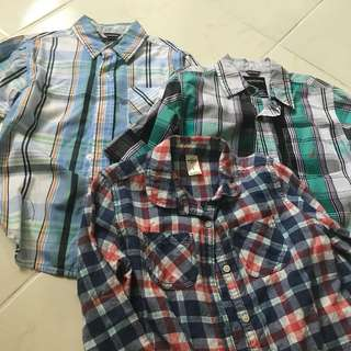 TAKE ALL BOYS NAUTICA LS POLO SIZE 7-8 YEARS OLD