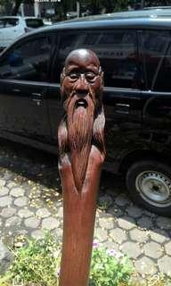 Tongkat Kayu Setigi