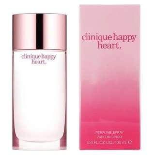 Clinique Happy Heart EDP for Women (100ml) Eau de Parfum Pink