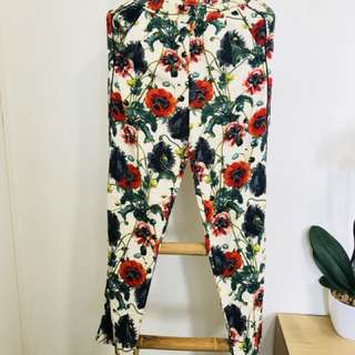 Funky Floral Pants