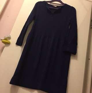 Sample sweater dress size S