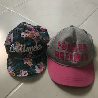 2pcs H&M CAP HAT