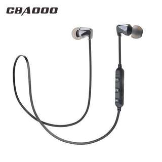 Ceramic Bluetooth 4.2 Wireless Earphones stereo HIFI Bass Earbuds with MIC