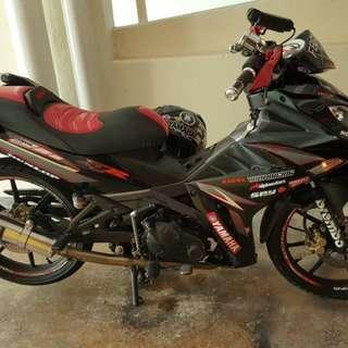 Yamaha X1R with yoshi