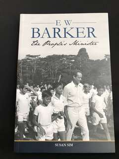 Brand new book: E W BARKER- The People's Minister by Susan Sim