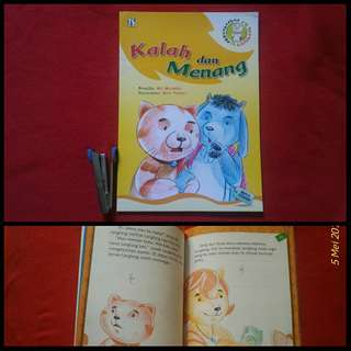 Buku anak Petualangan Langlang Kalah dan Menang