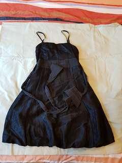 baby doll black dress