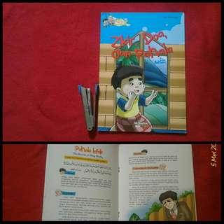 Buku anak Seri Hadis Qudsi Anak Muslim Zikir Doa dan Pahala