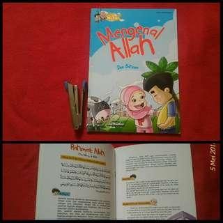 Buku anak Seri Hadis Qudsi Anak Muslim Mengenal Allah