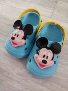 Mickey Mouse Flip Flop Shoes
