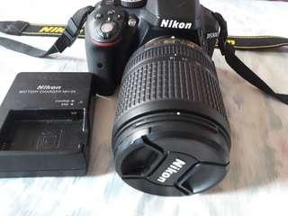 NIKON D5300 Slightly Used