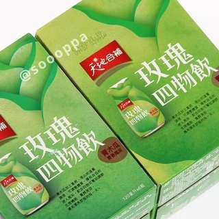 【預購】台灣代購 桂格 天地合補 青木瓜 玫瑰四物飲 120ml x 6入