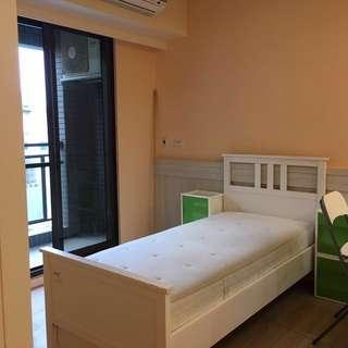 IKEA 單人床架床墊(含保潔墊)