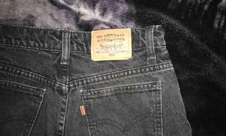 Levi grey high waisted shorts