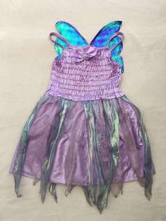 Purple Fairy Costume for girls 3-5yo