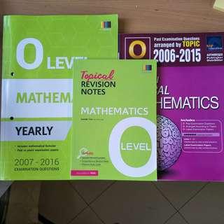 E math O Level TYS