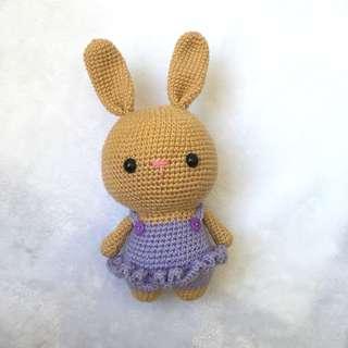 Bunny in Dress [Amigurumi]