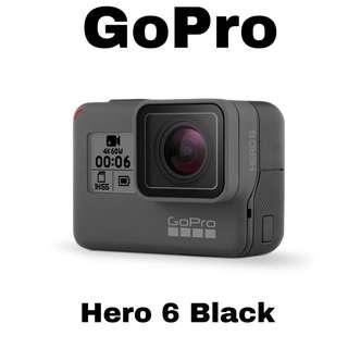 (PM) GoPro Hero 6 Black Action Camera