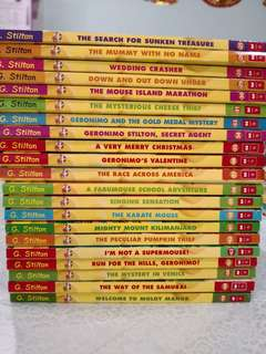 Geronimo Stilton Series