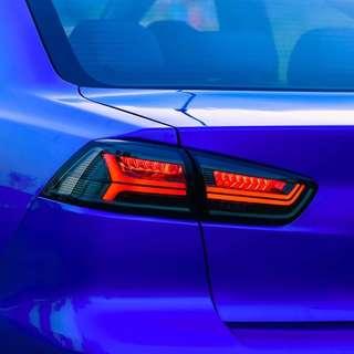 Mitsubishi Lancer Ex / Evolution X Audi Styled Taillights