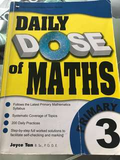 Daily Dose of Maths Primary 3
