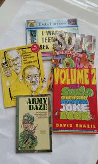5 Nolstagic Singapore Books