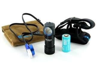 Olight h1r nova 600 lumens rechargeable headlamp