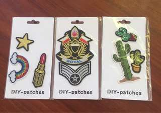 Set of Patches
