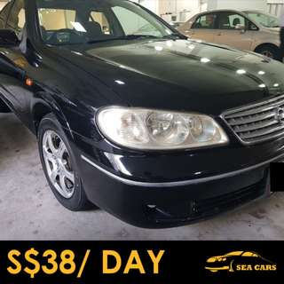RENTAL FOR GRAB / PERSONAL USAGE - NISSAN SUNNY
