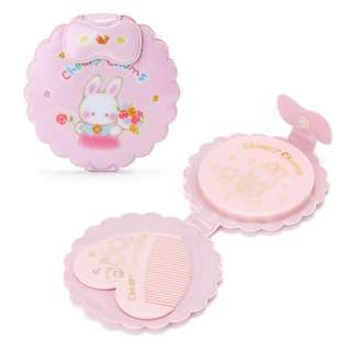 Japan Sanrio Cheery Chums Mirror & Comb Set (Friends)