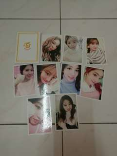 Twice preorder photocard