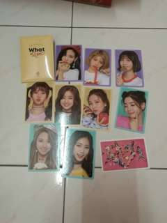 Twice what is love preorder card