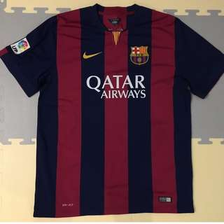 FC BACELONA 2014-2015 HOME KIT SIZE XL