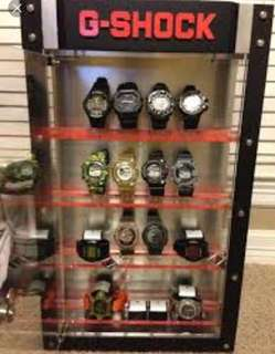 G Shock Acrylic Display Stand