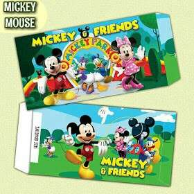 Sampul Duit Raya Mickey Mouse