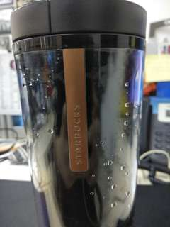 Starbucks tumbler black shiren