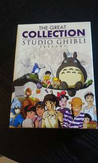 The Great Collection Studio Ghibli DVD