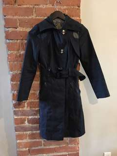 Mackage xxs Black trench coat