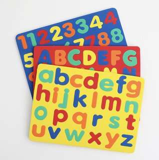 ABC & Numbers Foam Puzzles